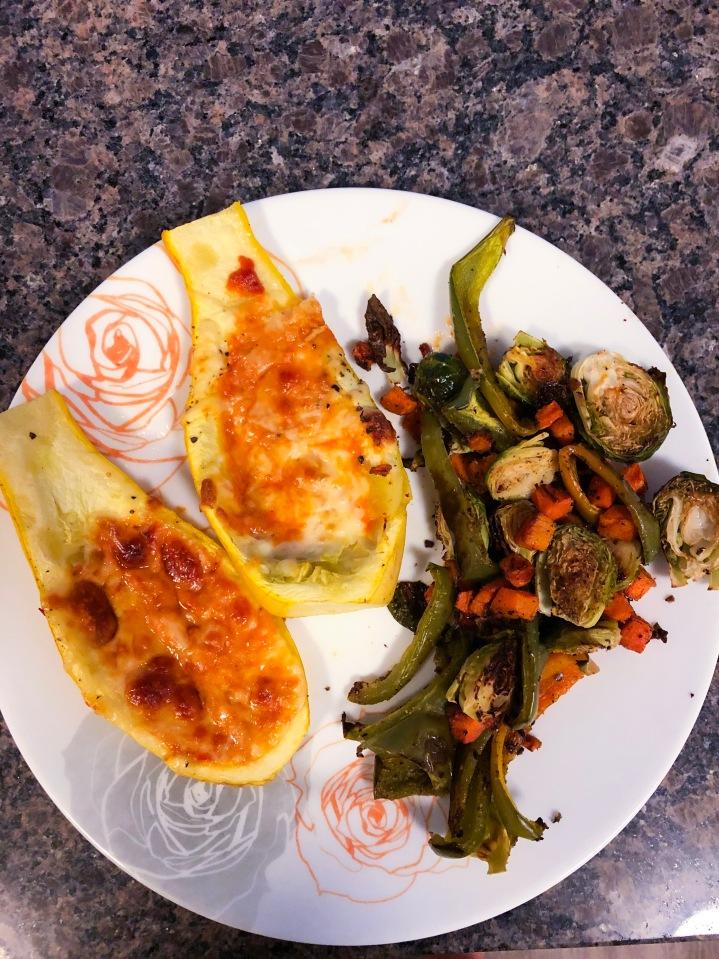 Summer Recipe: Pizza Squash and RoastedVegetables